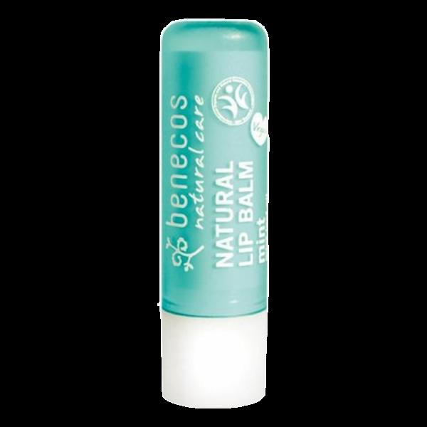 benecos natuurlijke vegan lippenbalsem mint