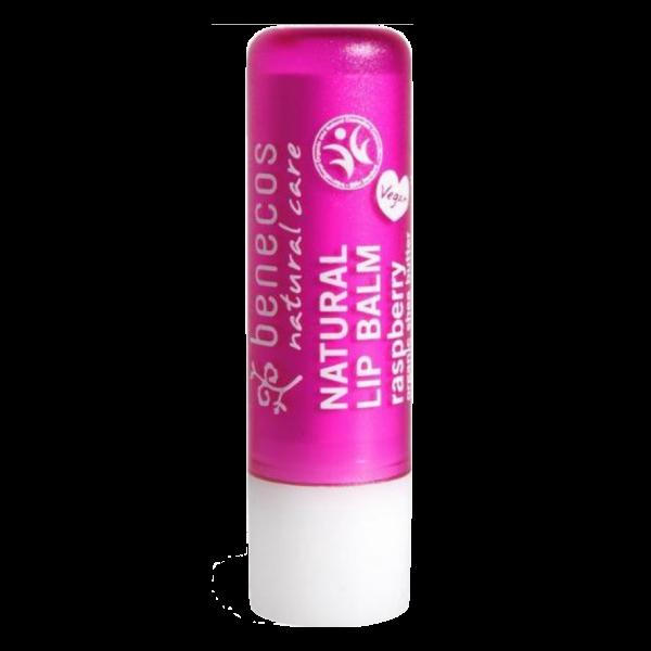 benecos natuurlijke vegan lippenbalsem raspberry